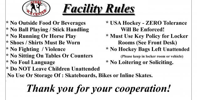 facility rules2